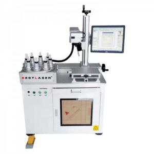 Automatic Multi Position Rotary Laser Marking Machine for LED Lamp Bulbs