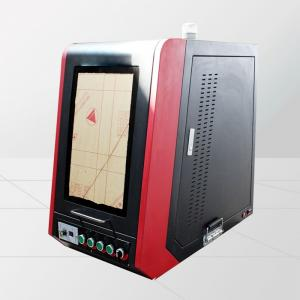 20w Fiber Laser Etching Machine For Metal with Protection Cover