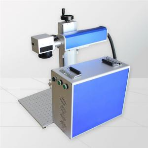 Color Marking Stainless Steel MOPA Laser Engraving Machine